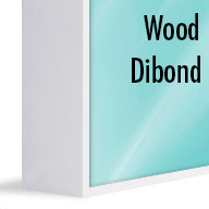 ArtBox White Wood (Mounted on Dibond)