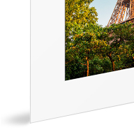 Photo Print with Passe-Partout