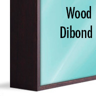 ArtBox Dark Brown Wood (Mounted on Dibond)