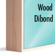 ArtBox Natural Wood (Mounted on Dibond)