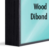 ArtBox Black Wood (Mounted on Dibond)